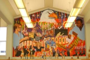John Marshall HIgh School Library Mural