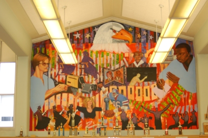 John Marshall HIgh School Library Mural