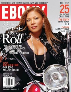 Ebony Magazine 2007 Queen Latifah