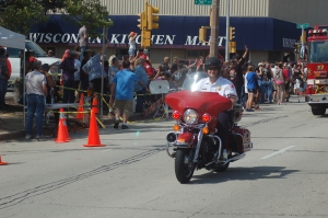 Police Motorcycles, and yes, Fire Motorcycles made an Harley Appearance (Photo courtesy of Stephen's Spot) @smcclintonjr